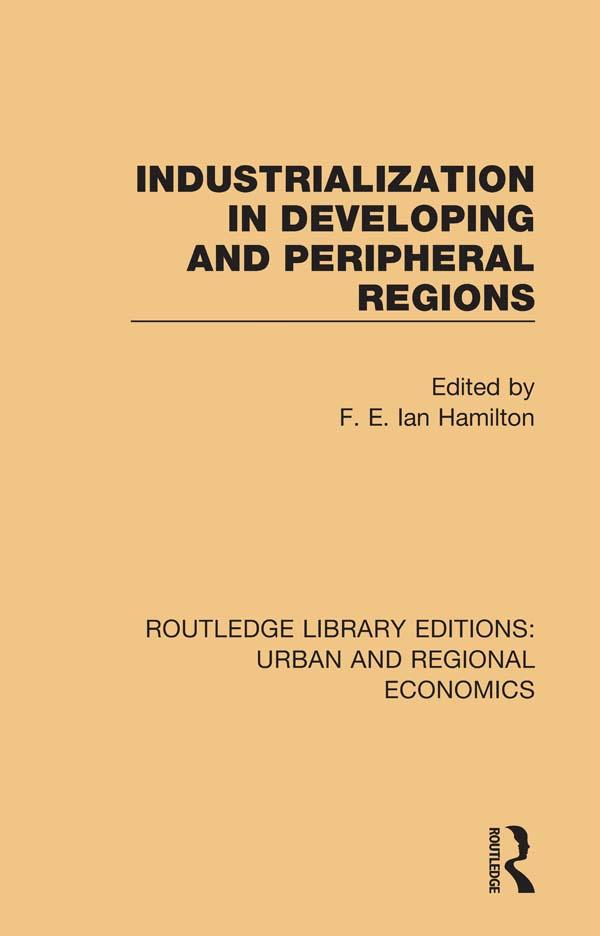 Industrialization in Developing and Peripheral Regions als eBook pdf
