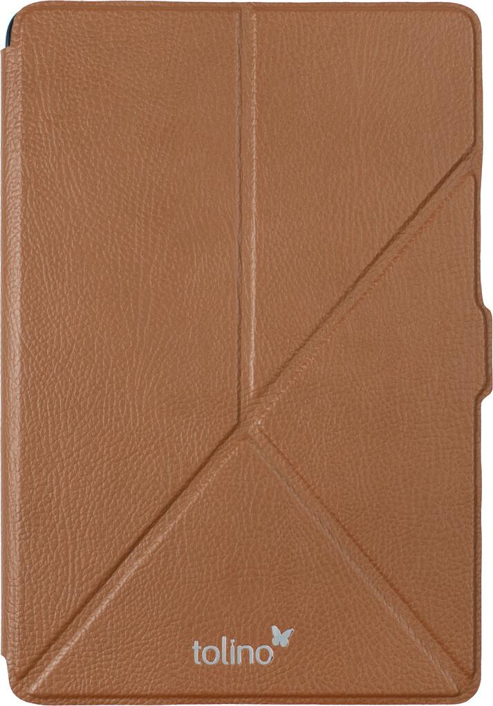 tolino epos Origami Cover Cognacfarben