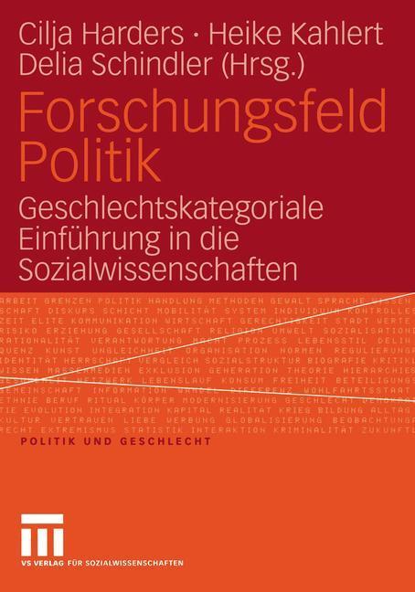 Forschungsfeld Politik als Buch (kartoniert)