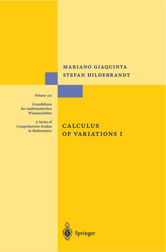 Calculus of Variations I als Buch (gebunden)