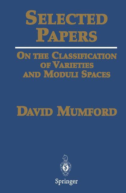 Selected Papers I als Buch (gebunden)