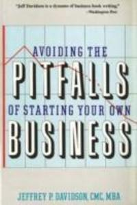 Avoiding the Pitfalls of Starting Your Own Business als Taschenbuch