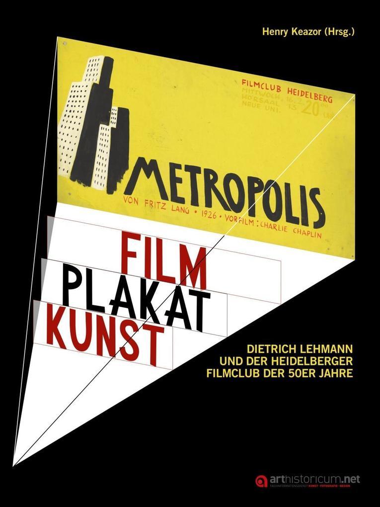 Film Plakat Kunst als Buch