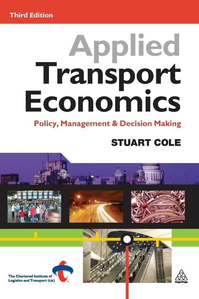 Applied Transport Economics als Buch (kartoniert)