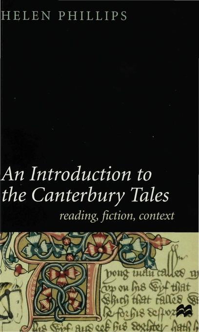 "An Introduction to the ""Canterbury Tales"" als Buch (kartoniert)"