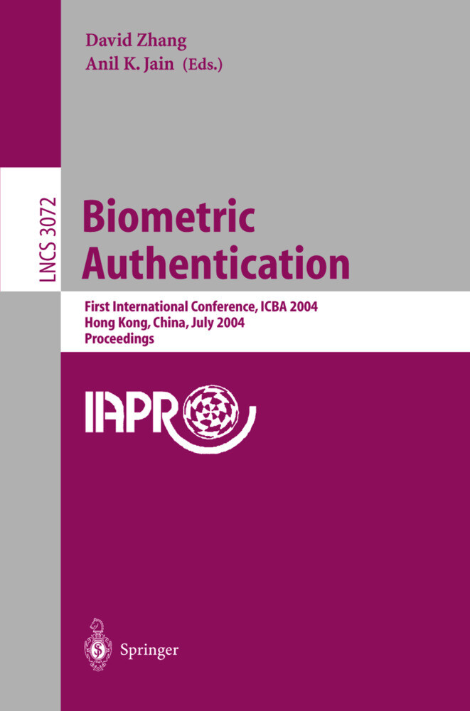 Biometric Authentication als Buch (kartoniert)