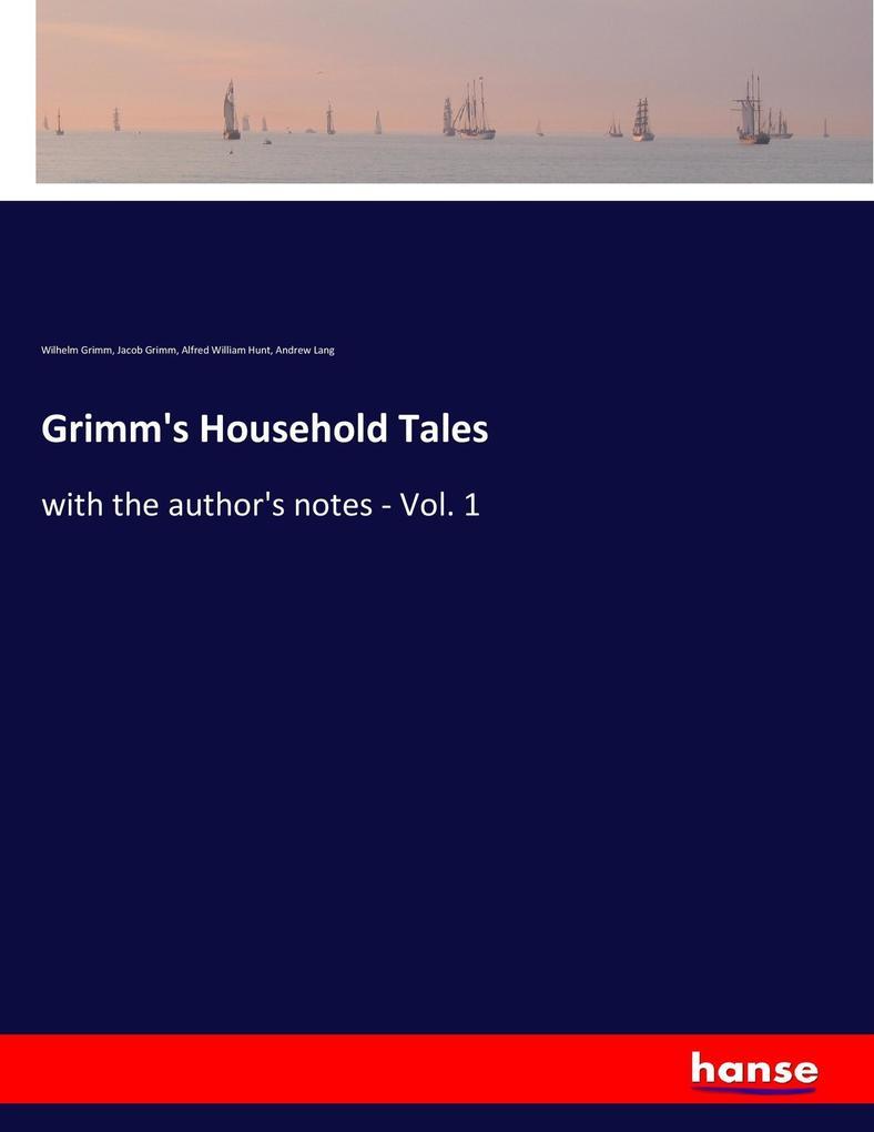 Grimm's Household Tales als Buch (kartoniert)
