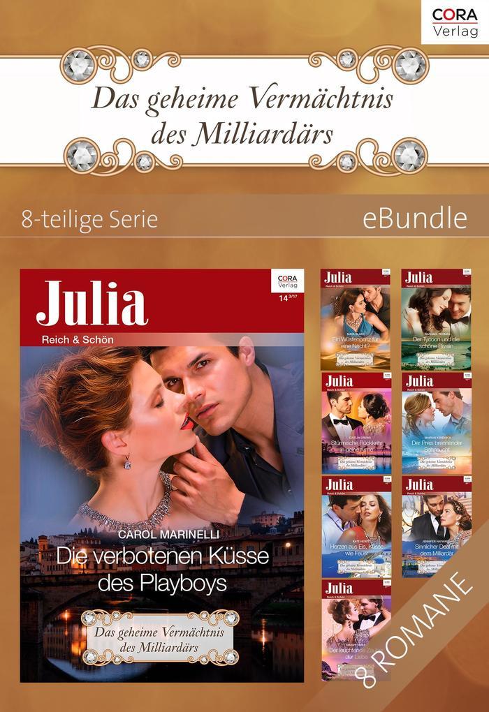 Das geheime Vermächtnis des Milliardärs - 8-teilige Serie als eBook