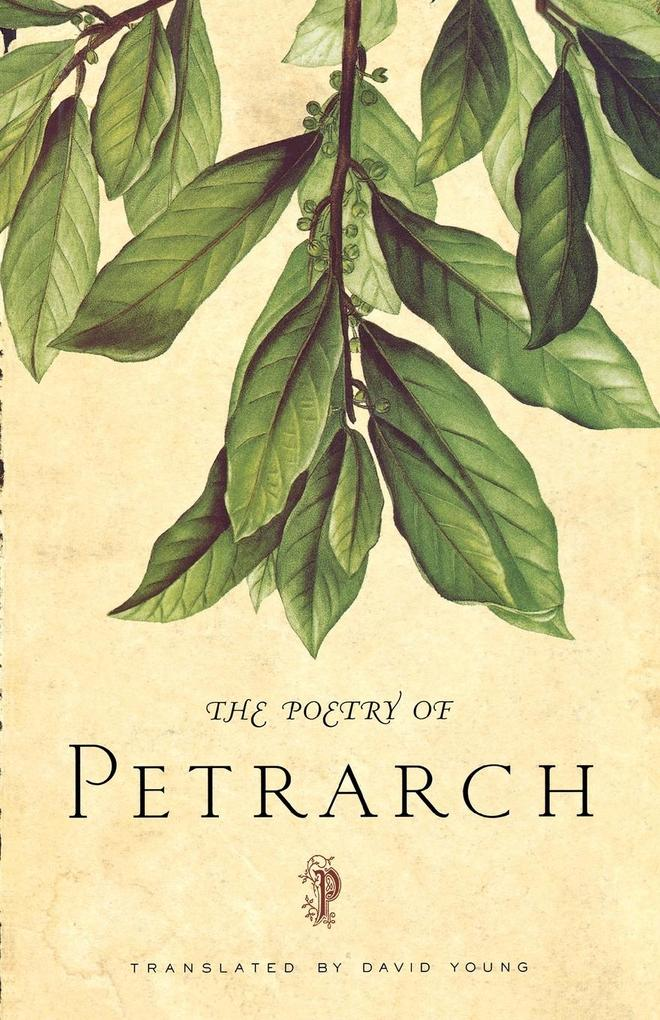 The Poetry of Petrarch als Taschenbuch