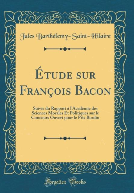 Étude sur François Bacon