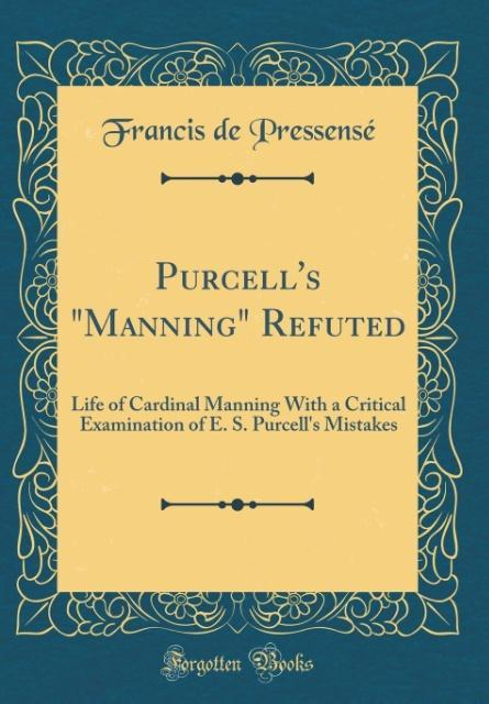 Purcell's Manning Refuted