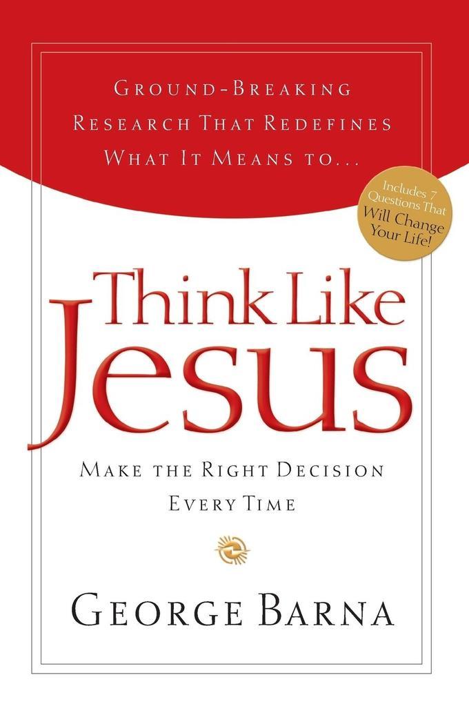 Think Like Jesus als Taschenbuch