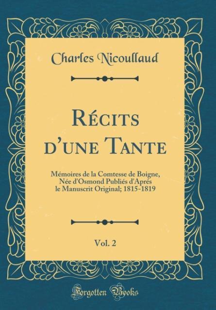 Récits d'une Tante, Vol. 2