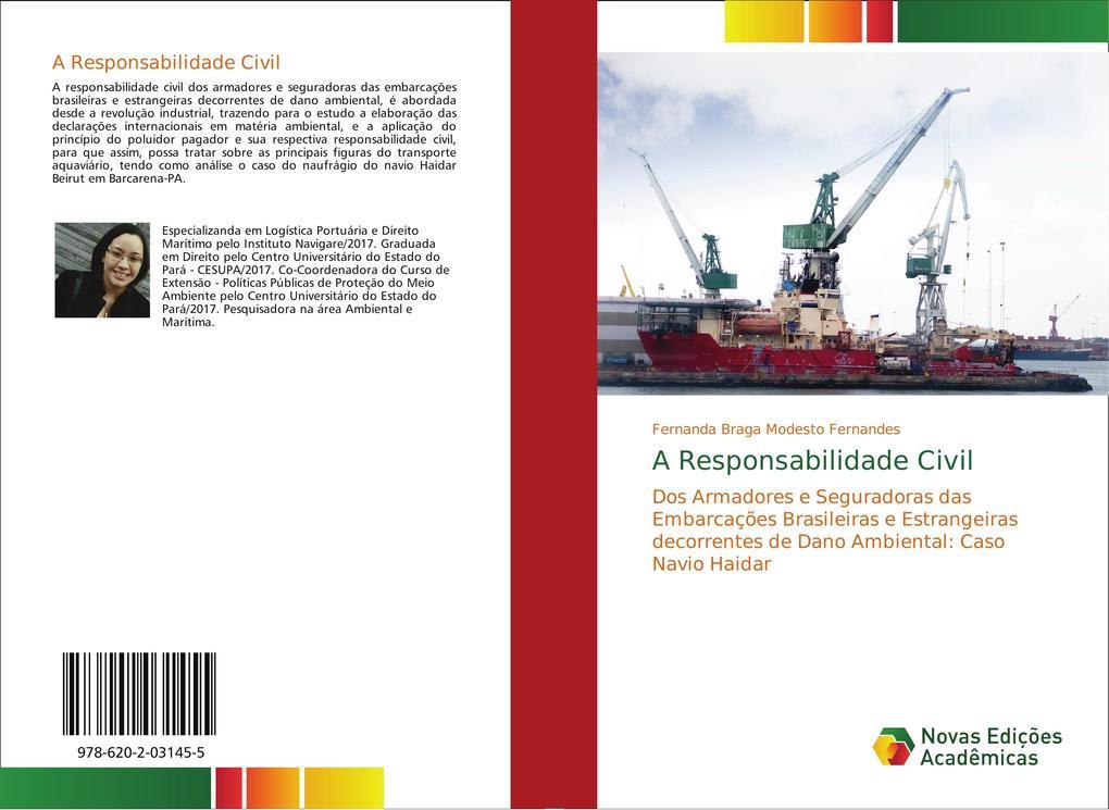 A Responsabilidade Civil als Buch von Fernanda Braga Modesto Fernandes - Novas Edições Acadêmicas