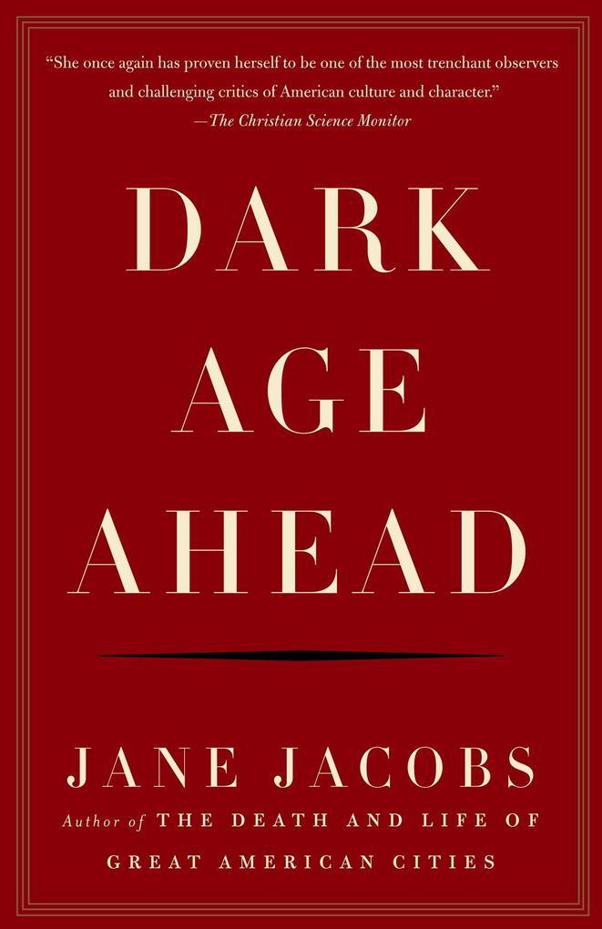 Dark Age Ahead als Taschenbuch