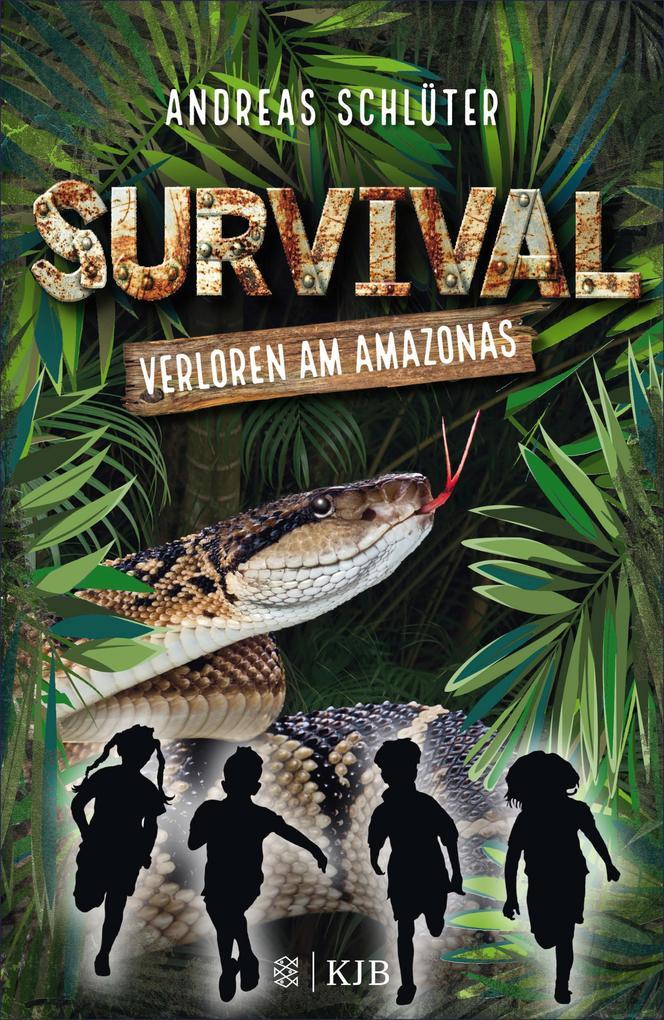 Survival - Verloren am Amazonas als eBook