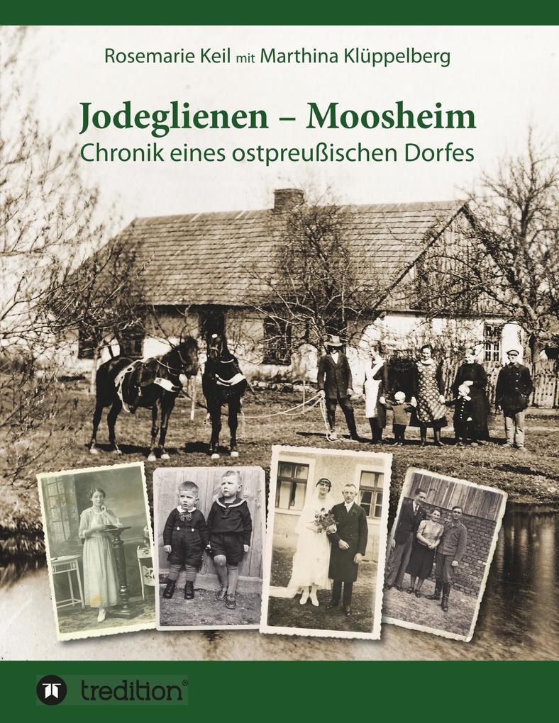Jodeglienen - Moosheim als Buch (kartoniert)
