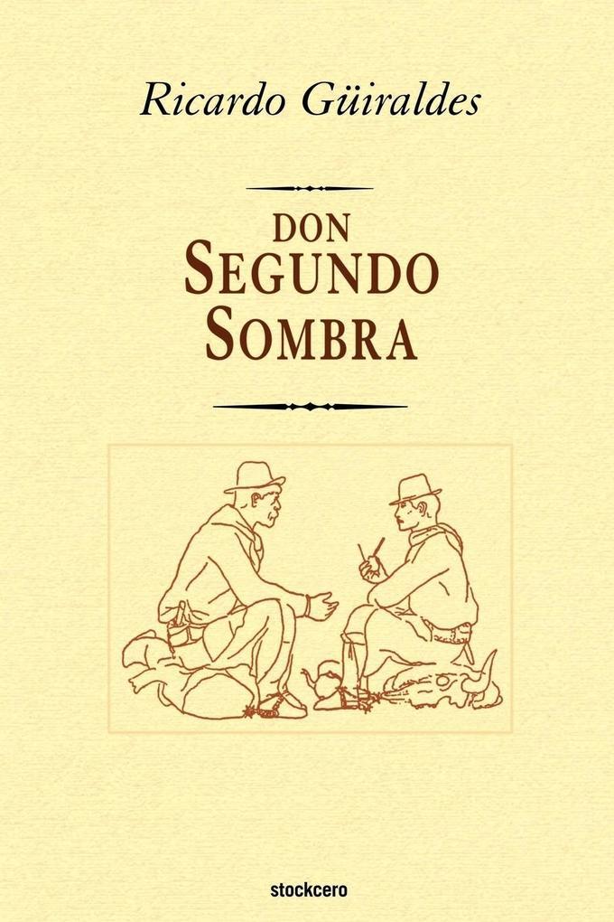 don Segundo Sombra als Buch (kartoniert)