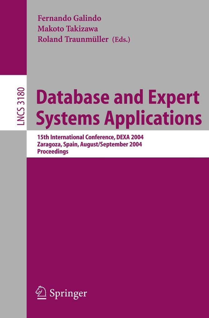 Database and Expert Systems Applications 2004 als Buch (kartoniert)