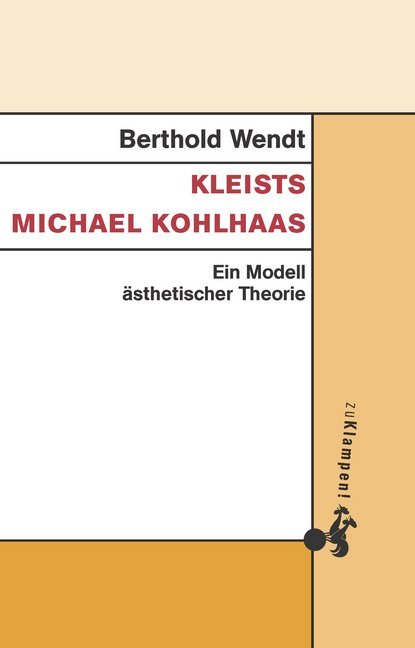 Kleists Michael Kohlhaas als Buch