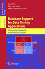 Database Support for Data Mining Applications