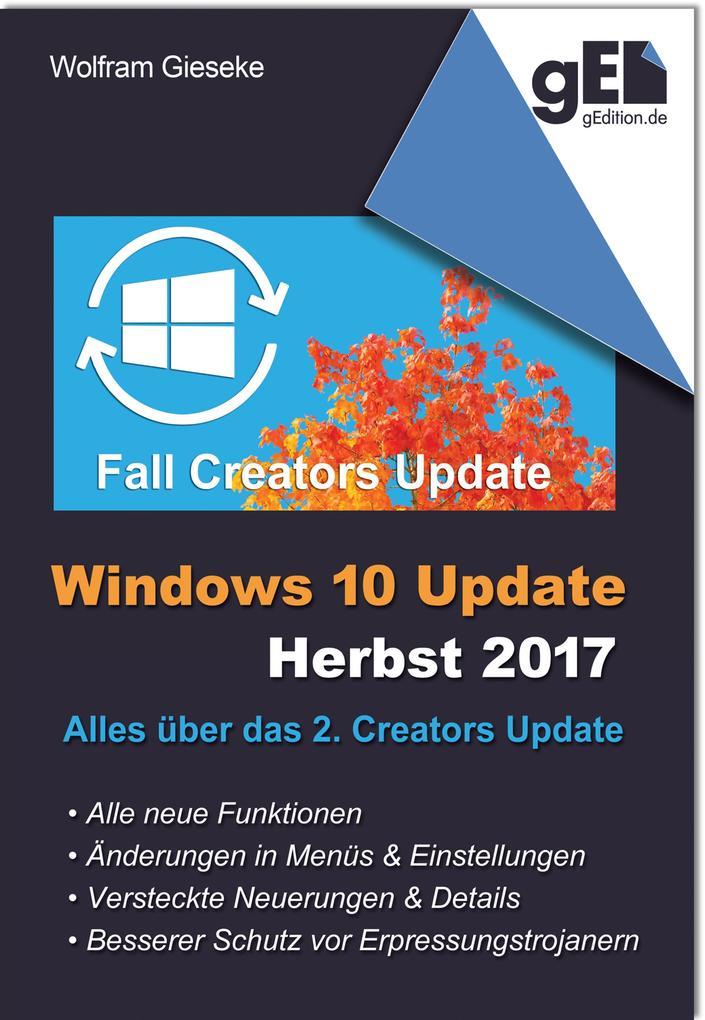 Windows 10 Update - Herbst 2017 als eBook