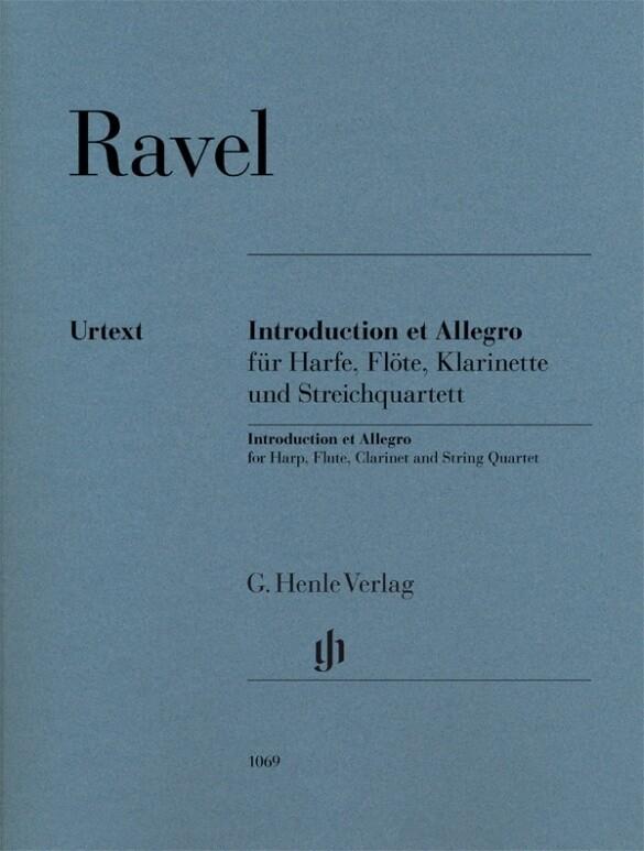Introduction et Allegro für Harfe, Flöte, Klarinette und Streichquartett