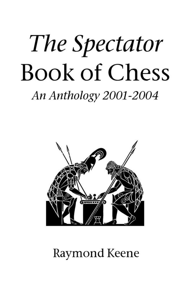 The Spectator Book of Chess als Taschenbuch
