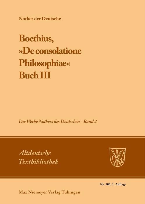 Boethius, »De consolatione Philosophiae« als eBook