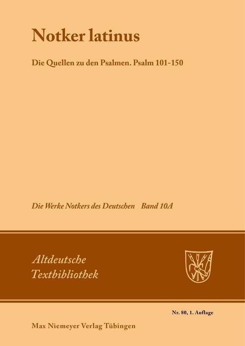 Notker latinus als eBook