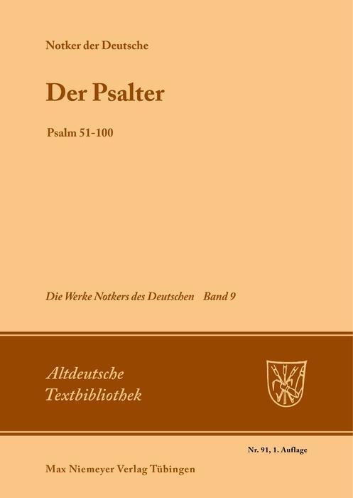 Der Psalter als eBook