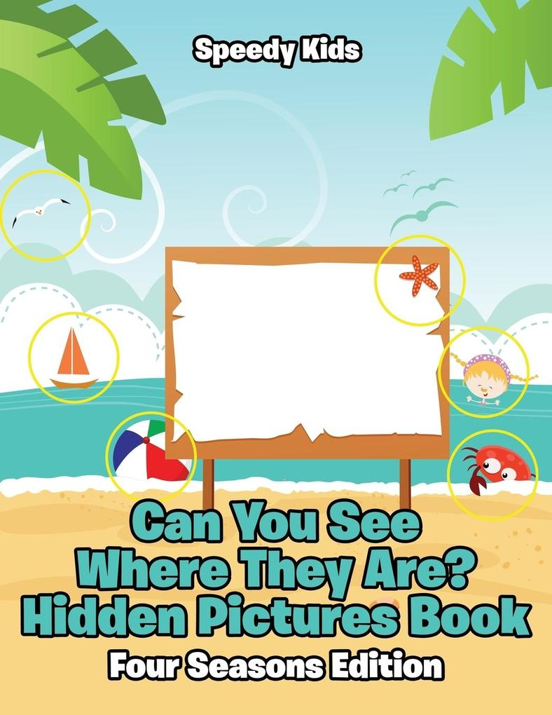 Can You See Where They Are? Hidden Pictures Boo...
