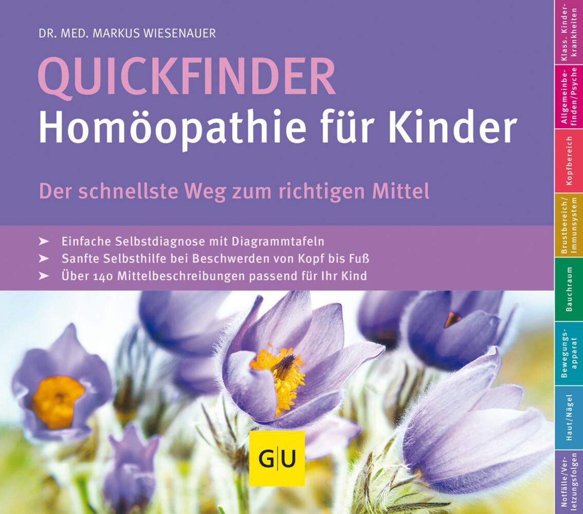 Quickfinder- Homöopathie für Kinder als Buch von Markus Wiesenauer