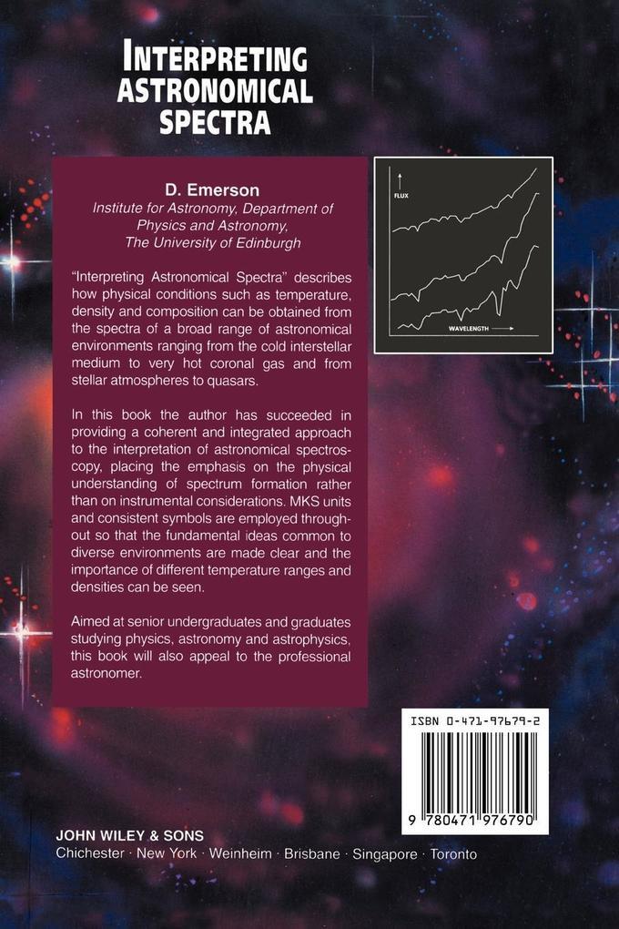 Interpreting Astronomical Spectra als Buch (kartoniert)
