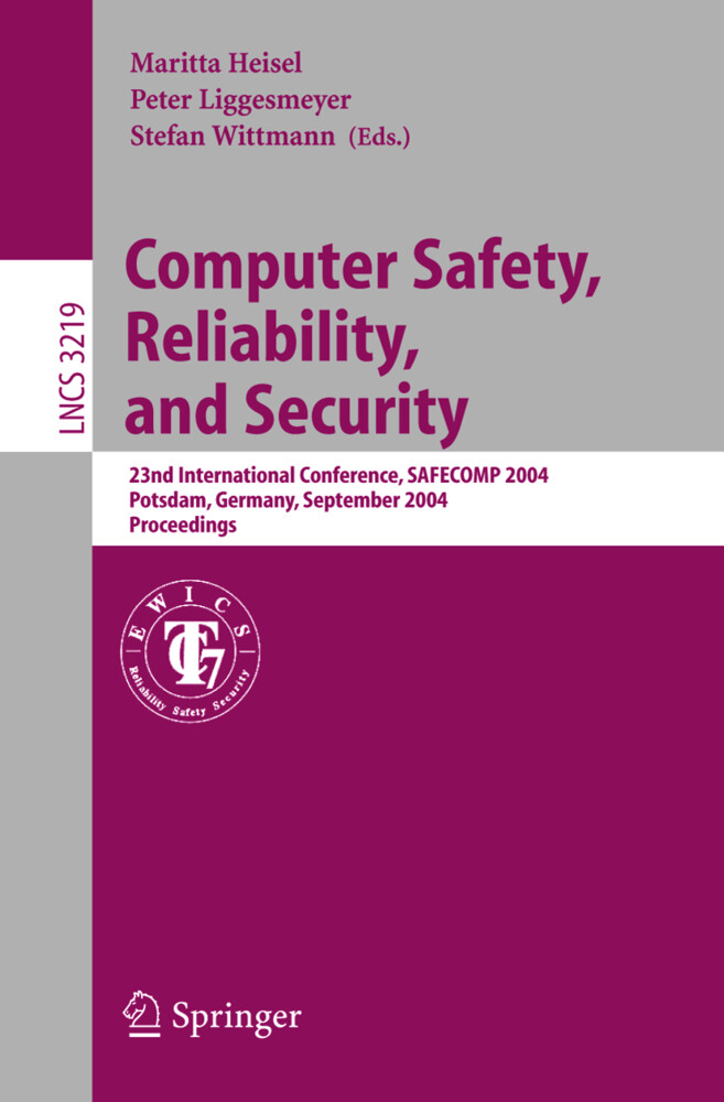 Computer Safety, Reliability, and Security als Buch (kartoniert)