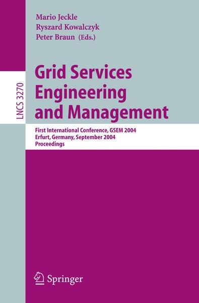Grid Services Engineering and Management als Buch (kartoniert)