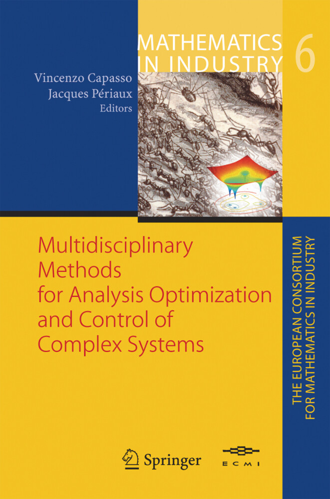Multidisciplinary Methods for Analysis Optimization and Control of Complex Systems als Buch (gebunden)
