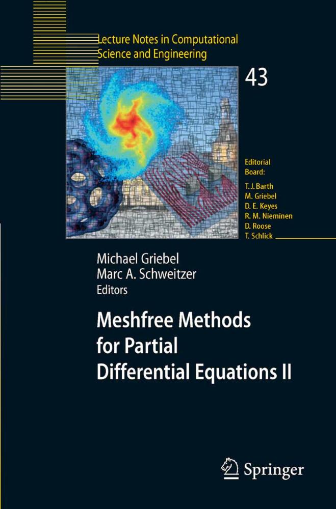 Meshfree Methods for Partial Differential Equations II als Buch (kartoniert)