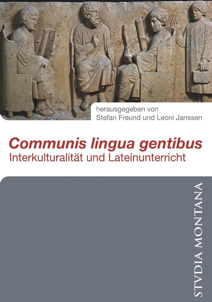 Communis lingua gentibus als Buch