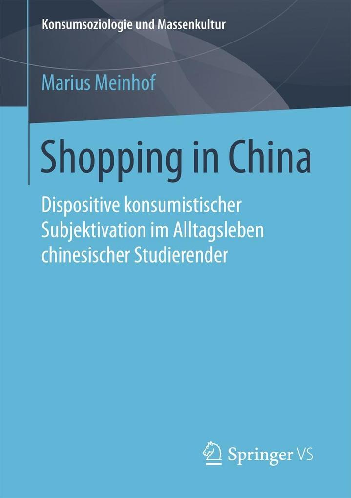 Shopping in China als eBook von Marius Meinhof