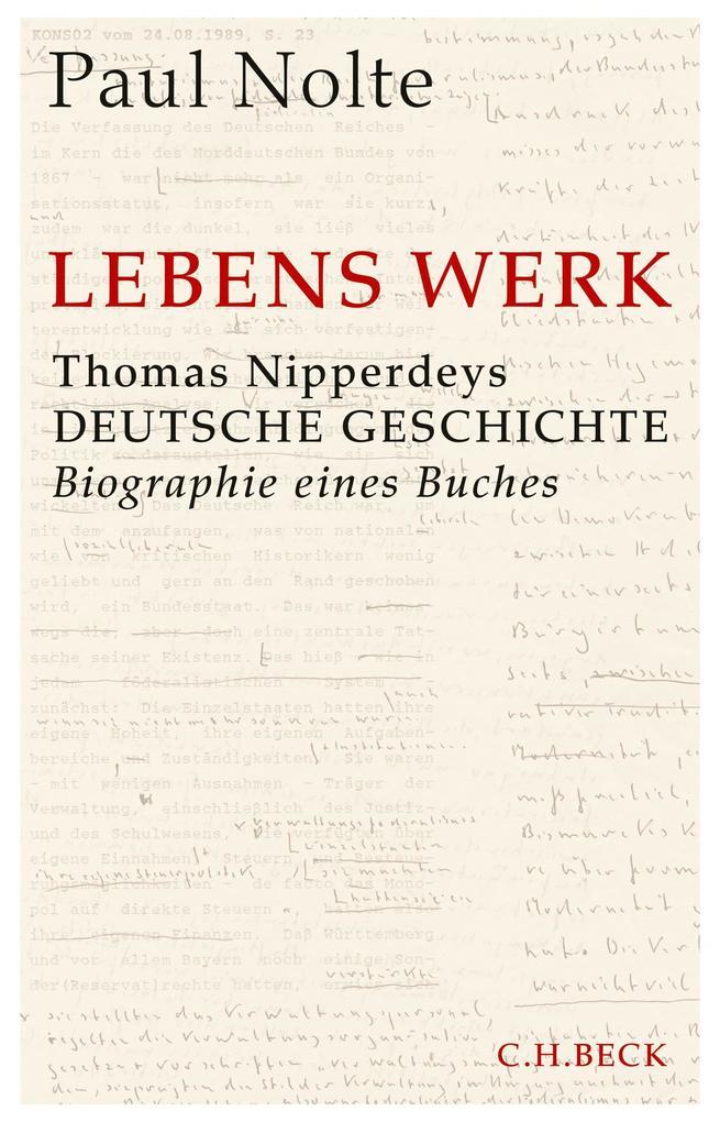 Lebens Werk als Buch (gebunden)