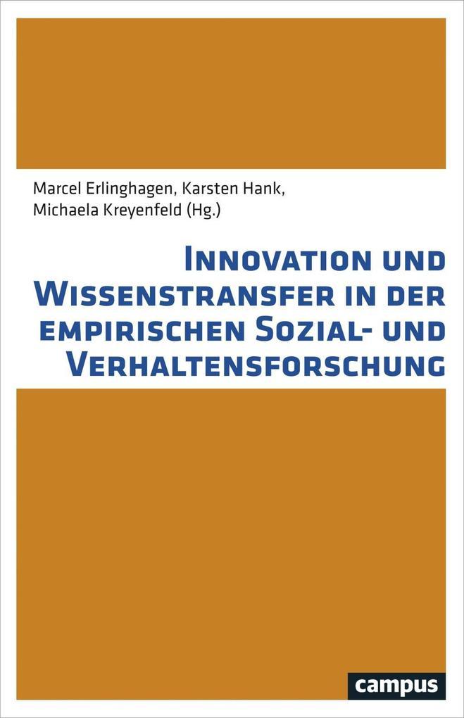 Innovation und Wissenstransfer in der empirisch...