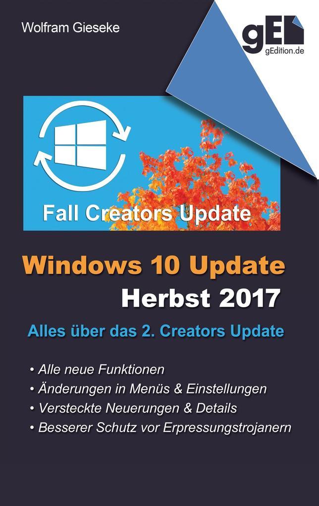 Windows 10 Update - Herbst 2017 als Buch