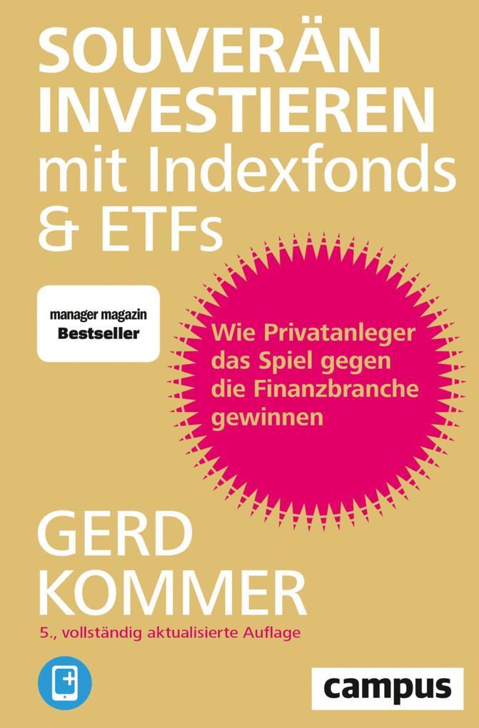 Souverän investieren mit Indexfonds und ETFs als eBook epub