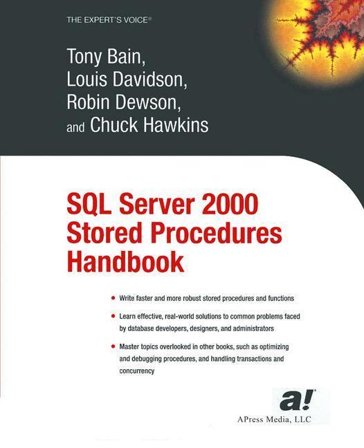 SQL Server 2000 Stored Procedures Handbook als Buch (kartoniert)