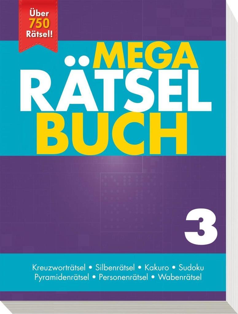 Mega Rätselbuch 3 als Buch von