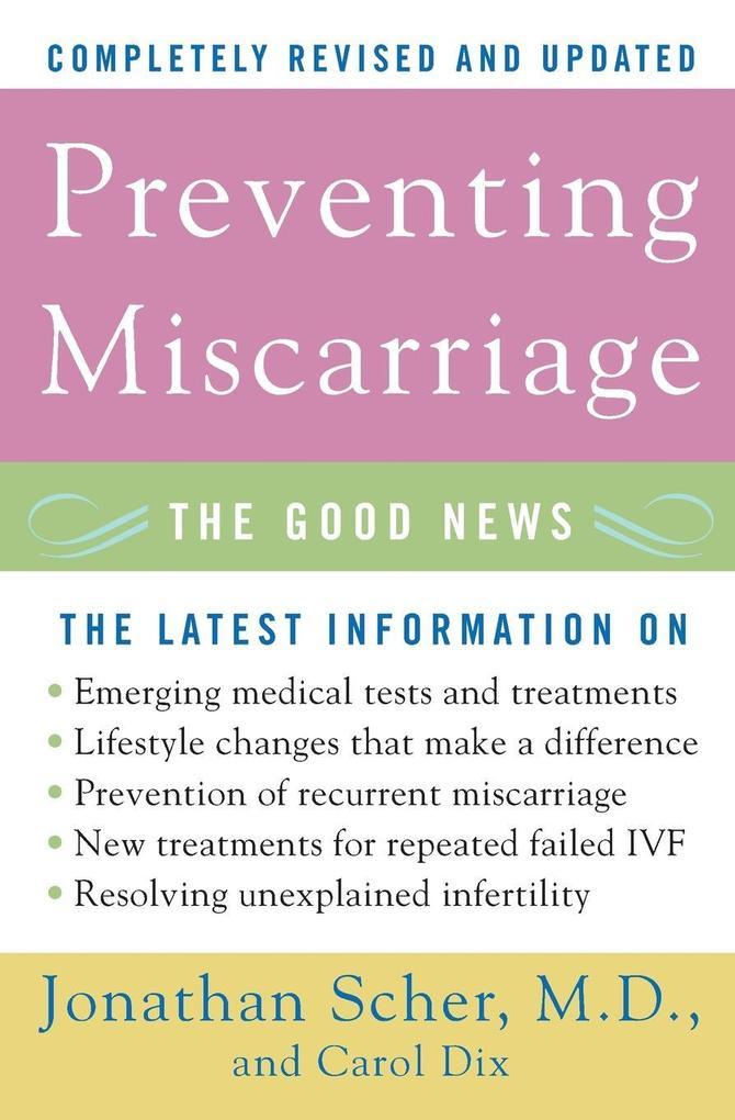 Preventing Miscarriage Rev Ed als Taschenbuch