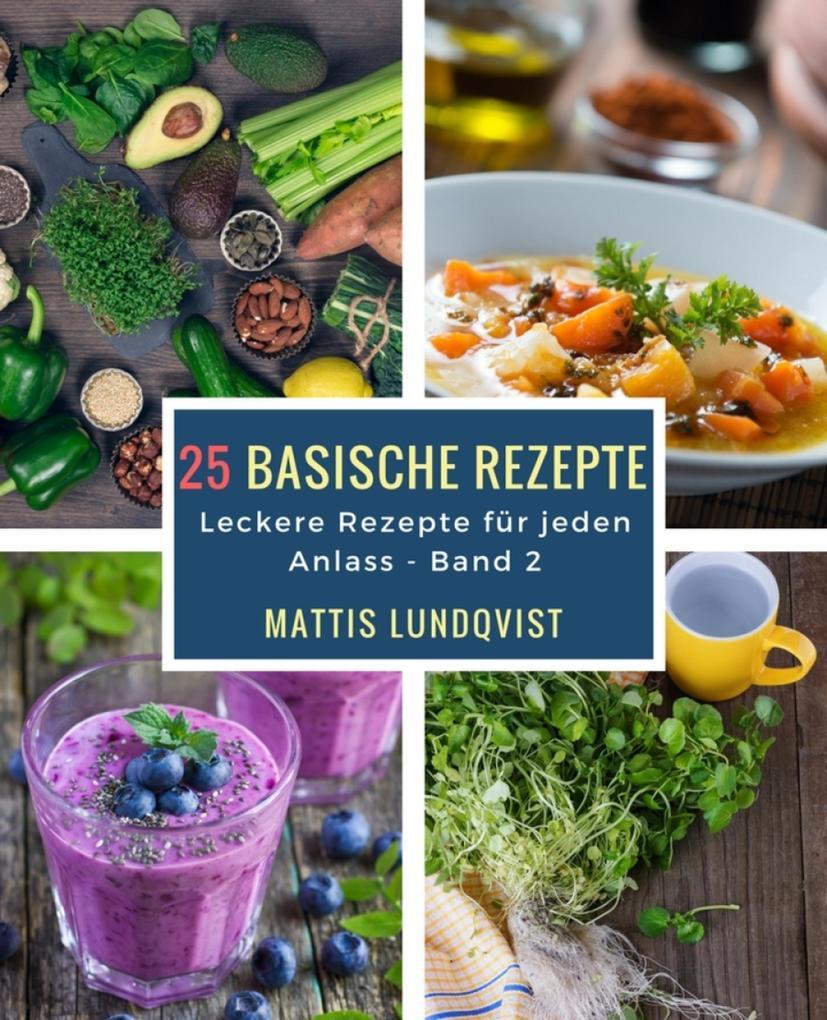 25 basische Rezepte als eBook