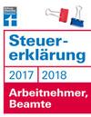 Steuererklärung 2017/2018 - Arbeitnehmer, Beamte
