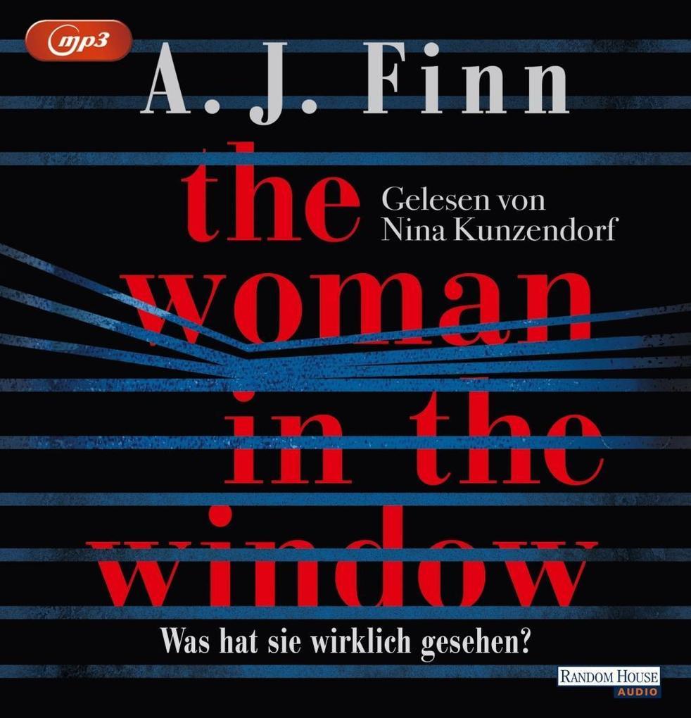 The Woman in the Window - Was hat sie wirklich gesehen? als Hörbuch